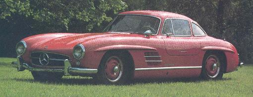 1954 Mercedes Benz SL Gull Wing