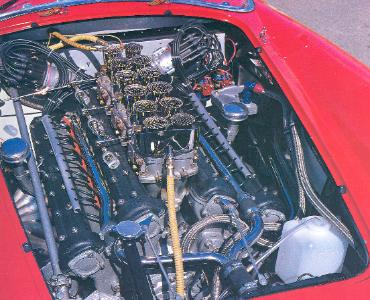 1958 Ferrari Testa Rossa Engine Bay