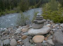 Teanaway River rock cairn (where it all began)
