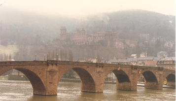 Alte Brucke (Karl-Theodor Bridge), Heidelberg, Germany