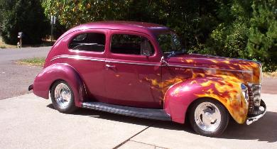Jon's 1940 Ford DeLuxe