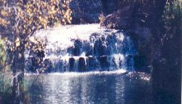 Waterfall near Copperas Cove, Texas