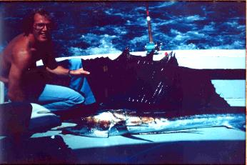 115 lb Sailfish (somewhere west of Mexico)
